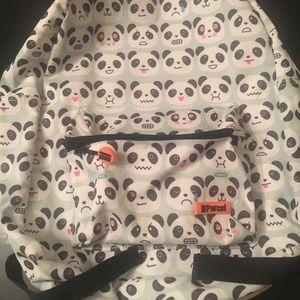 Handbags - III Parcel School/Tote Backpack Cute Panda Design
